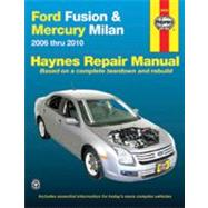 Haynes Repair Manual Ford Fusion and Mercury Milan Automotiv..., 9781563928901
