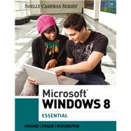 Microsoft Windows 8 : Essential,9781285168906