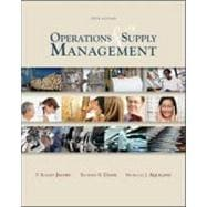 Operations and Supply Management wStudent DVD Rom