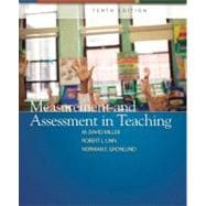 Measurement and Assessment in Teaching,9780132408936
