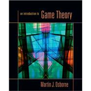 An Introduction to Game Theory,9780195128956
