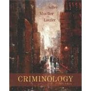 Criminology, with PowerWeb,9780073258973
