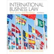 International Business Law,9780132718974