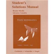 Student Sols Manual Finite Mathematics & Its Applications