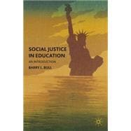 Social Justice in Education : An Introduction,9780230338982