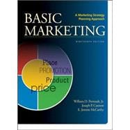 BASIC MARKETING A Marketing Strategy Planning Approach,9780078028984