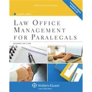 Law Office Management for Paralegals,9781454808992