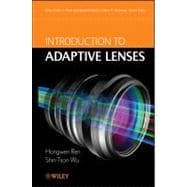 Introduction to Adaptive Lenses, 9781118018996