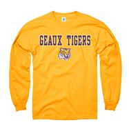 LSU Tigers Youth Gold Lingo Long Sleeve T-Shirt