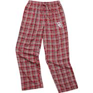 Oklahoma Sooners Cardinal Empire Flannel Pants
