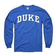Duke Blue Devils Youth Royal Arch Long Sleeve T-Shirt