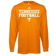 Tennessee Volunteers adidas 2012 Tenn Orange Youth Practice Long Sleeve T-Shirt