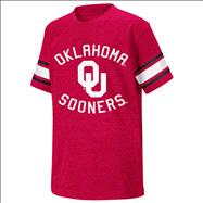 Oklahoma Sooners Cardinal Youth Football T-Shirt