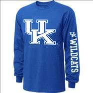 Kentucky Wildcats  Royal Youth Double Hit II Long Sleeve T-Shirt