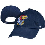 Kansas Jayhawks '47 Brand Royal Clean Up Adjustable Hat
