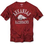 Arkansas Razorbacks '47 Brand Vintage Scrum Tee