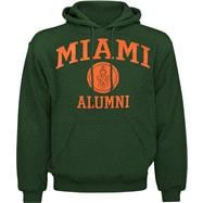 Miami Hurricanes Alumni Hooded Sweatshirt