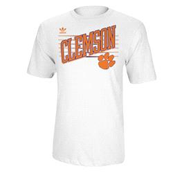 Clemson Tigers adidas Originals College Slats T-Shirt