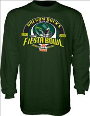 Oregon Ducks 2013 Fiesta Bowl Bound Long Sleeve T-Shirt