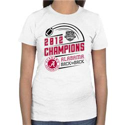 Alabama Crimson Tide Women's 2012 BCS National Champions T-Shirt