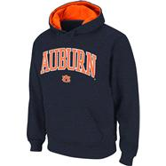 Auburn Tigers Navy Tackle Twill Autumn Too Hooded Sweatshirt