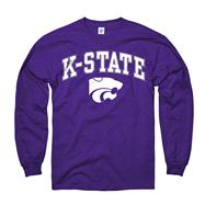 Kansas State Wildcats Purple Perennial II Long Sleeve T-Shirt