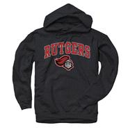 Rutgers Scarlet Knights Black Perennial II Hooded Sweatshirt