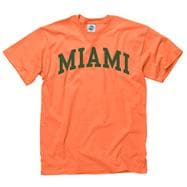 Miami Hurricanes Youth Orange Arch T-Shirt