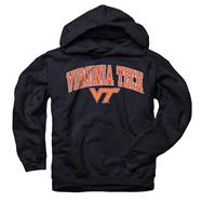 Virginia Tech Hokies Youth Black Perennial II Hooded Sweatshirt