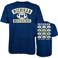 Michigan Wolverines Navy adidas Patches T-Shirt