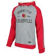 Louisville Cardinals adidas Originals Raglan Hooded Sweatshirt