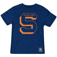 Syracuse Orange Heather Navy adidas Originals The Balboa Tri-Blend T-Shirt