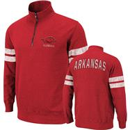 Arkansas Razorbacks Cardinal Flex 1/4 Zip Fleece Sweatshirt