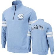 North Carolina Tar Heels Lt Blue Flex 1/4 Zip Fleece Sweatshirt
