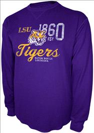 LSU Tigers Charcoal Gamebreaker Long Sleeve Thermal