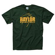 Baylor Bears Dark Green Primetime Basketball T-Shirt