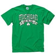 Michigan Wolverines Marauder St. Patty's Day T-Shirt