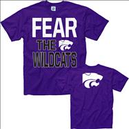 Kansas State Wildcats Purple Fear T-Shirt