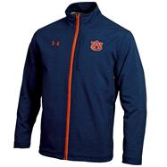 Auburn Tigers Navy Under Armour 2012 Football Sideline Contender Full-Zip Jacket