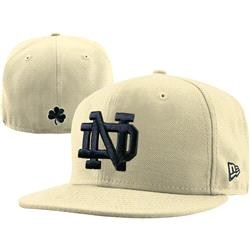 Notre Dame Fighting Irish New Era Old Gold 59FIFTY Fitted Hat