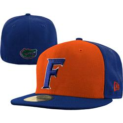 Florida Gators New Era Orange/Royal 59FIFTY Fitted Hat