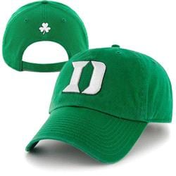 Duke Blue Devils '47 Brand St. Patty's Day Cleanup Adjustable Hat