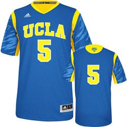 UCLA Bruins adidas Blue #5 2013 NCAA March Madness On Court Premier Basketball Jersey