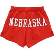 Nebraska Cornhuskers Women's Red Authentic Soffe Shorts