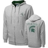 Michigan State Spartans Griffin Legend Thermal Lined Full-Zip Hooded Sweatshirt
