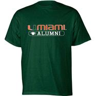 Miami Hurricanes Green Alumni T-Shirt