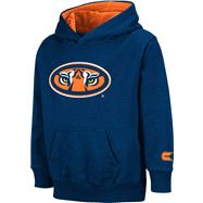 Auburn Tigers Kids 4-7 Navy Automatic Hooded Sweatshirt