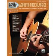 Easy Guitar Play-along Acoustic Rock Classics : A No-Nonsens..., 9780739069011  