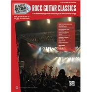Easy Guitar Play-along Rock Guitar Classics : A No-Nonsense ..., 9780739069028  