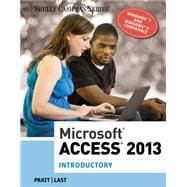 Microsoft Access 2013,9781285169033